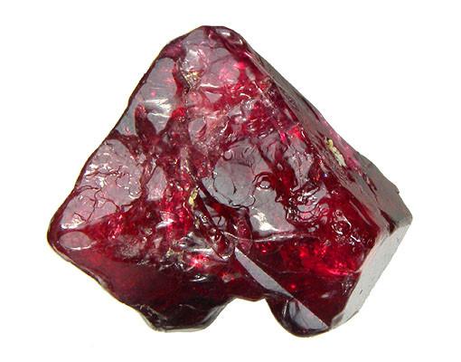 Afbeelding van rode steen